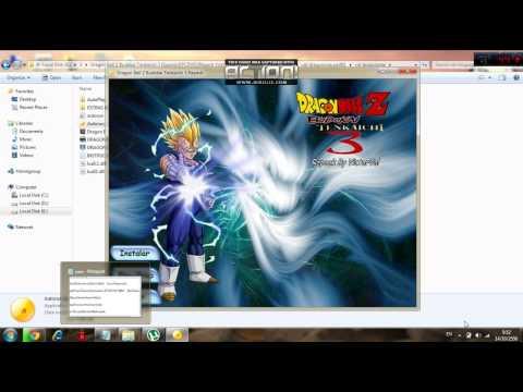 ดาวน์โหลด+ติดตั้งเกมส์ Dragonball z dragonball z budokai tenkaichi 3 (เล่นได้ 100%)