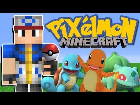 Minecraft: JOGANDO PIXELMON,