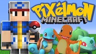 Minecraft: JOGANDO PIXELMON, O MOD DO POKEMON PELA PRIMEIRA VEZ!