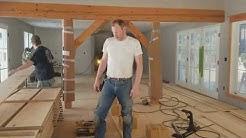 Wide Plank Floor Installation