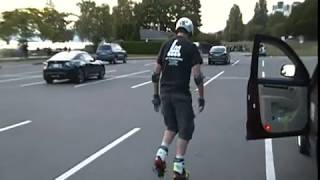 Disco Funk Inline Skating DEMO #8 - Lorne Milne Inline Skate Moves Catalog