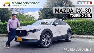 Mazda CX-30 Touring 2.0, a prueba: Un balance entre diseño, confort y precio