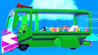 Roda di bus | Lagu anak anak | Kartun anak | Super Supremes Indonesia | Bayi sajak