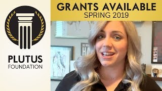 Plutus Foundation Grants Available - Spring 2019
