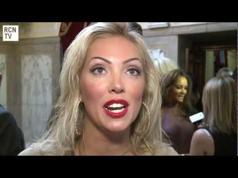 Aisleyne Horgan-Wallace Interview National Reality TV Awards 2012