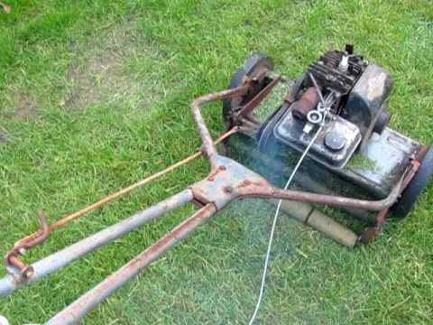 Resurrection Of The 1950 S Sears Reel Mower Youtube