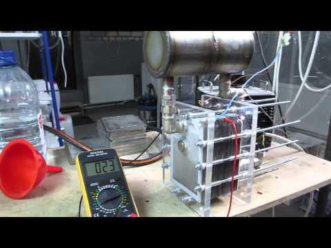 Водородный генератор своими руками для отопления 4