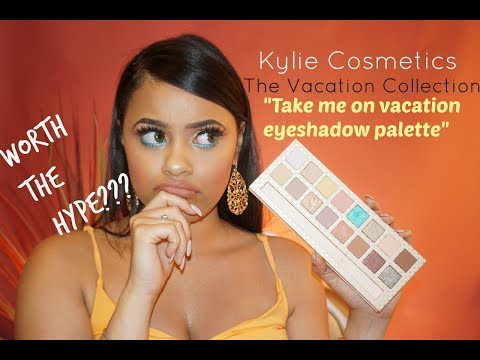 """KYLIE COSMETICS """"THE VACATION COLLECTION"""" 
