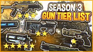 Season 3 Gun Tier List