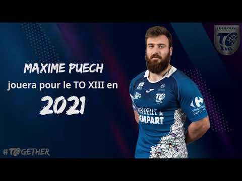 Maxime PUECH au TO en 2021