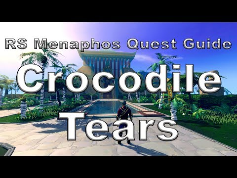 RS: Crocodile Tears Guide - RuneScape [Menaphos Quest #2]