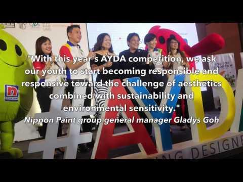 Nippon Paint 2017 Asia Young Designer Award AYDA by megabitescomph