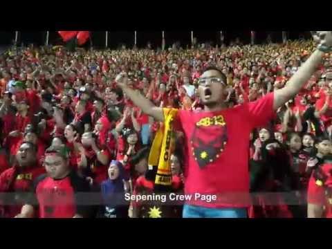 Away Days Terbaik JDT Fans ke Stadium Negeri Sarawak 25 jun 2014