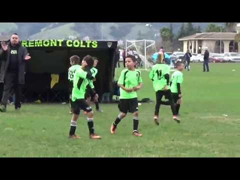Fremont Colts 08 Green vs EC Real Necaxa (Jr. State Cup 2016) pt 2 of 3