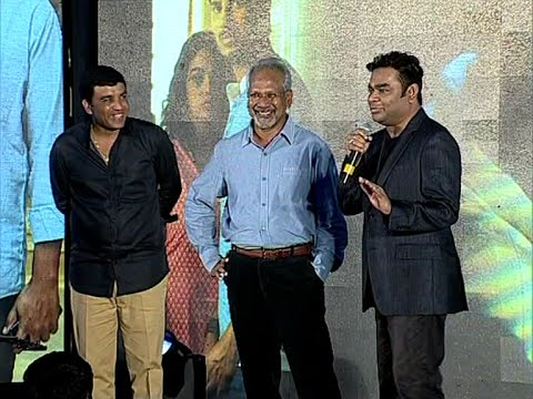 Mani Ratnam and A.R. Rahman Funny at Ok Bangaram Audio Success Meet