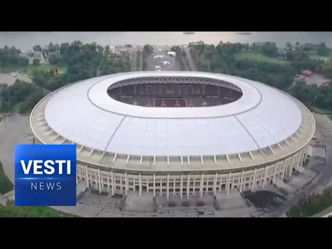 Spectacular! Landmark Moscow Football Stadium Renovated for The 2018 World Cup