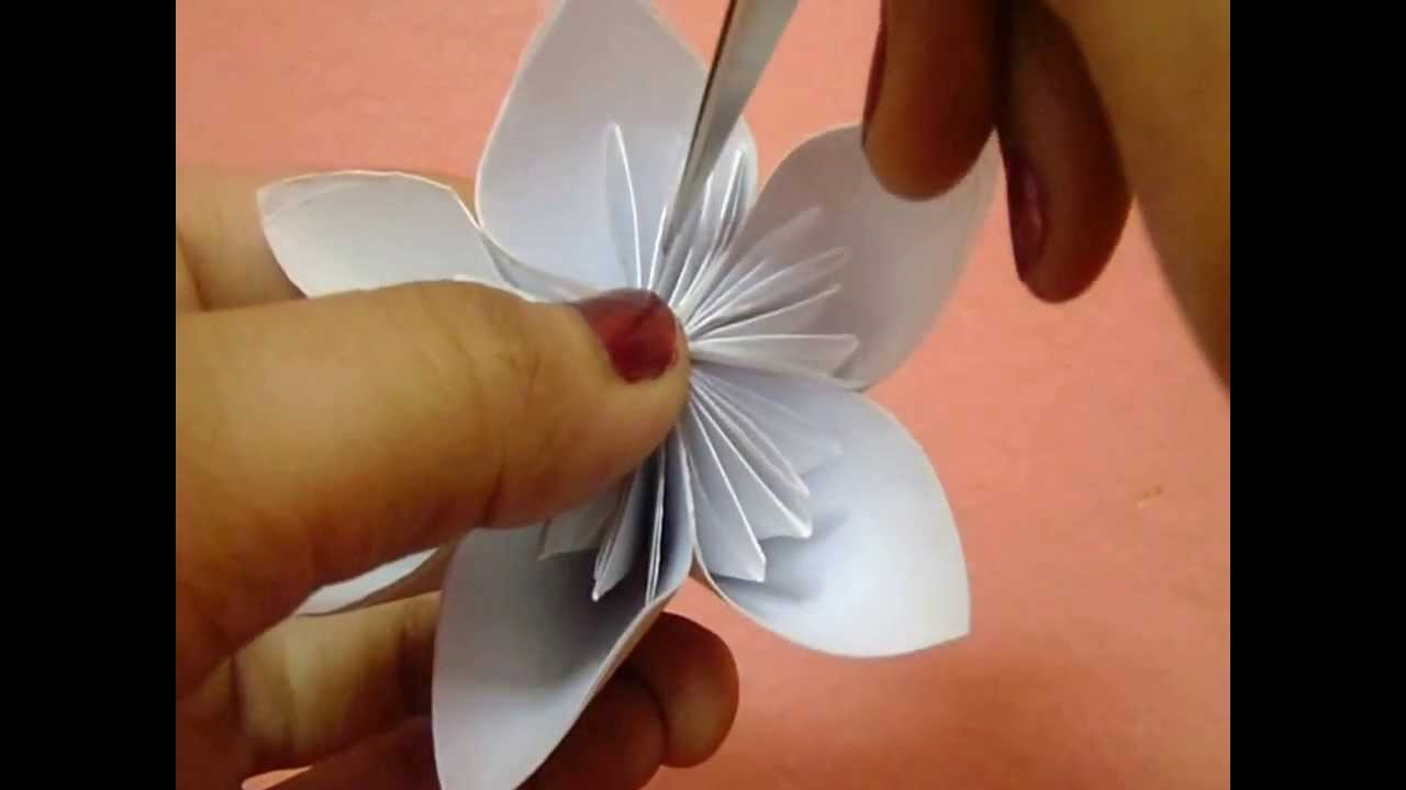 Paper Flower Paper Arts Crafts Youtube