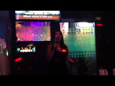 Stephanie karaoke What doesn't kill you makes you stronger