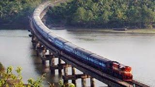 Beautiful Konkan Railways in Monsoon. सुंदर कोकण रेल्वे