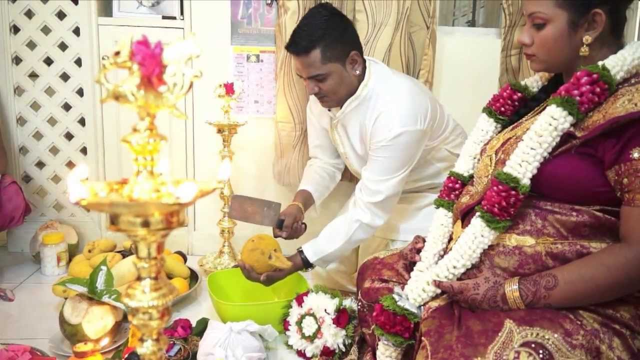 Hindu baby shower seemantham valaikaapu sullukaapu for Baby shower function decoration