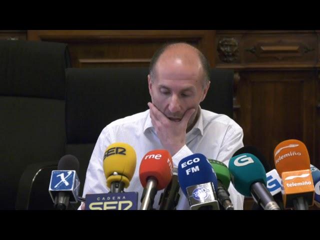 Rueda de Prensa del Alcalde Gonzalo Jácome el 2-7-2019