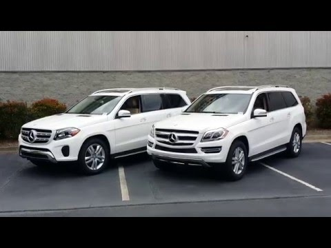 Differences Between the 2017 Mercedes-Benz GLS450 and the 2016 GL450