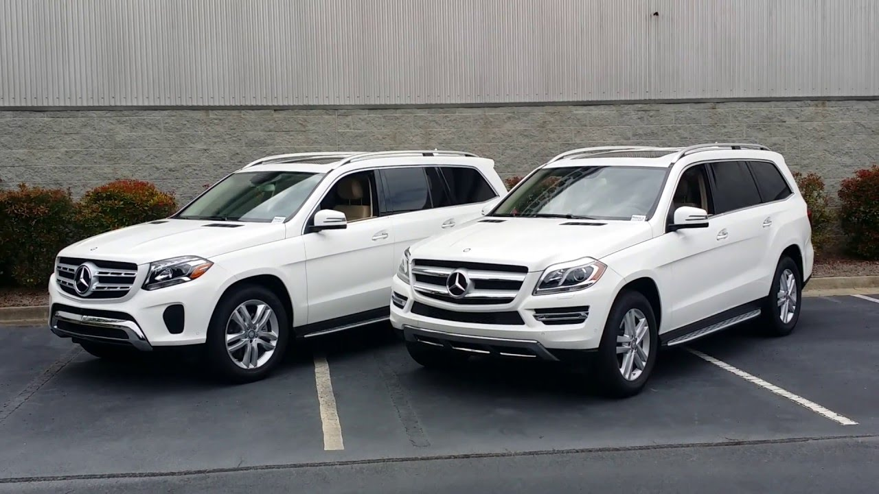 Differences Between The 2017 Mercedes Benz Gls450 And 2016 Gl450 You