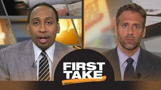 Stephen A. Smith and Max Kellerman react to Andrew Luck's 2018 preseason opener | First Take | ESPN
