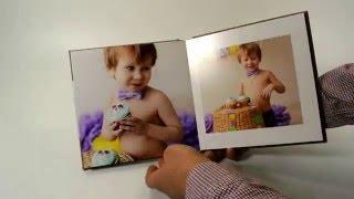 Детская фотокнига серии Текстиль(, 2016-05-25T16:16:25.000Z)