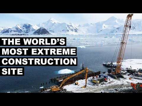 The World's Most Extreme Construction Site | The B1M