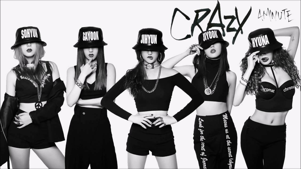 4Minute : Crazy MV + Crazy Album Download