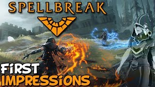 "Spellbreak First Impressions ""Is It Worth Playing?"""