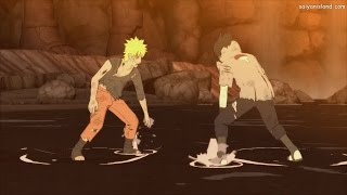 Naruto AMV Naruto Vs Sasuke Final Fight Courtesy Call