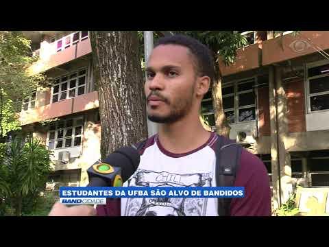 Estudantes da UFBA são alvo de bandidos