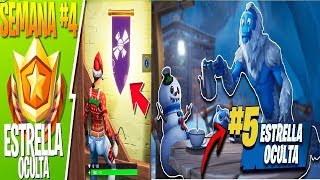 * star and standard hidden * 4 and 5 - week FORTNITE