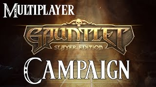 Gauntlet: Slayer Edition Gameplay Walkthrough Multiplayer - Campaign (1080P PS4)