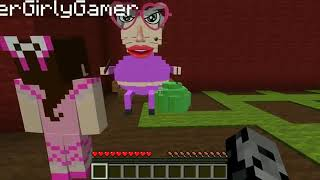 POpularMMOs Pat And Jen Minecraft  ESCAPE GRANDMA OBBY! Modded Custom Map GamingWithJen