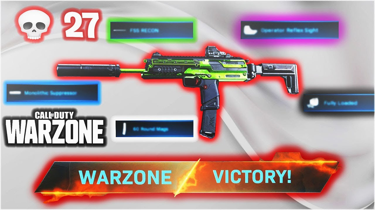 These Special Attachments Make The Mp7 Op On Warzone Best Warzone Loadouts Cod Warzone Ps4 Youtube