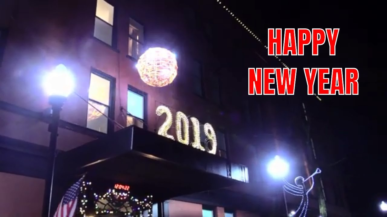 New Year's Eve Ball Drop 2019 in Seneca Falls, NY .::. FingerLakes1.com 1/1/19