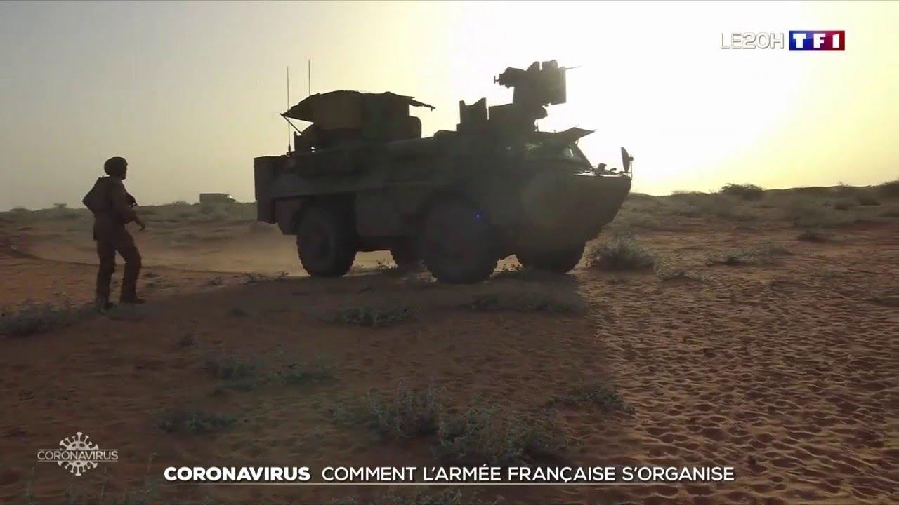 Coronavirus : comment l'armée française s'organise