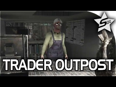 "7 Days to Die ALPHA 15 Gameplay Part 14 - ""THE TRADER OUTPOST, Bad News :("""