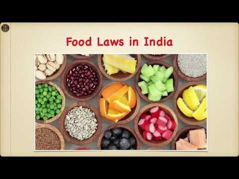 Food Laws in India
