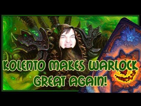 Hearthstone: Kolento makes warlock great again! (demonlock)