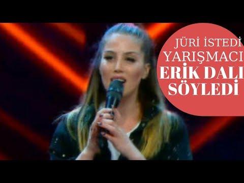 Jüri Istedi, Yarışmacı 'Erik Dalı' Söyledi-O Ses Türkiye-
