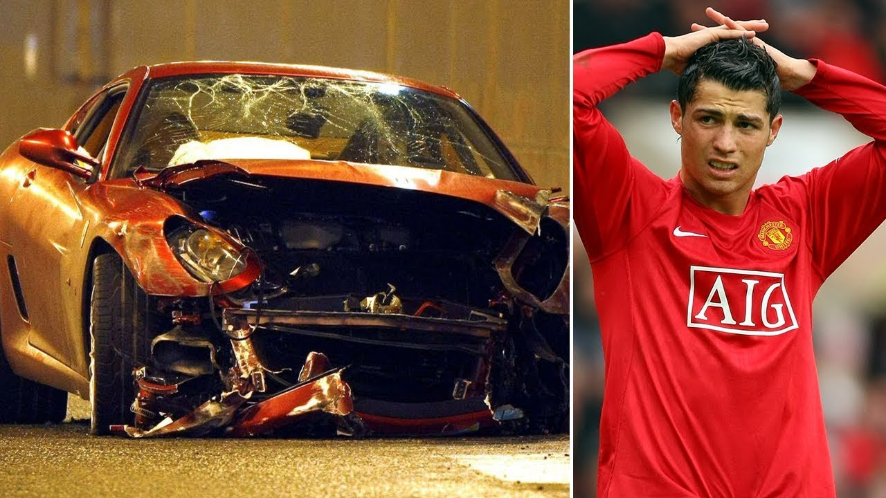 Download Cristiano Ronaldo's serious car accident in 2009 - Oh My Goal
