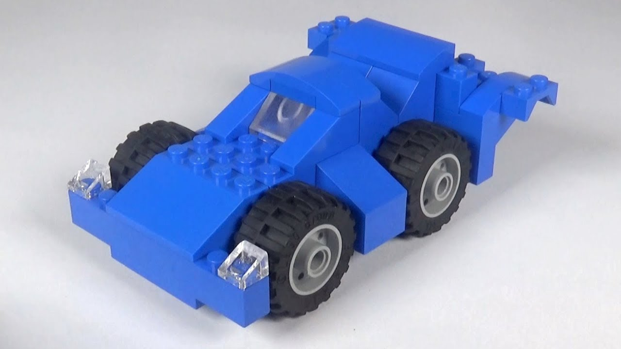 Lego Race Car 005 Building Instructions Lego Classic How To