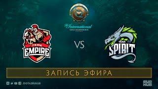 Empire vs Spirit, The International 2017 Qualifiers, map 3 [V1lat, GodHunt]