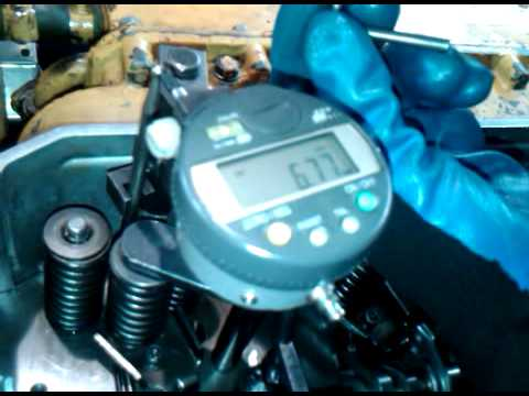 Motor CATERPILLAR 3116 CALIBRACION Entrada De Combustible (RACK SETTING)