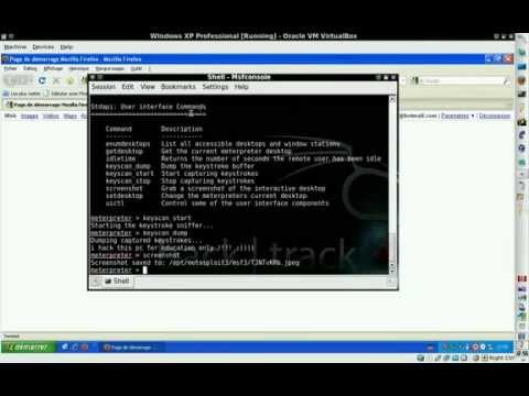 BackTrack 4 Metasploit 3 Hacking Windows XP