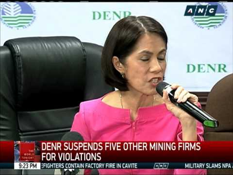 DENR Orders Closure Of 23 Mining Firms